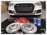 德州奥迪A3汽车刹车改装TTSPORT六活塞刹车卡钳,欧卡改装网,汽车改装