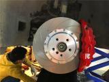 合肥宝马X3汽车刹车改装AP8520刹车卡钳案例,欧卡改装网