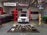 陕西丰田锐志汽车排气改装SETRS可变性能阀门排气中尾段,欧卡改装网,汽车改装