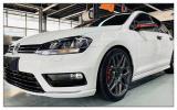 德州大众高尔夫7.5代汽车轮毂改装轻量旋压轮毂案例,欧卡改装网,汽车改装