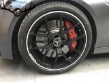 [奔驰刹车改装]奔驰C级升级奔驰原厂AMG大六和奔驰锻造轮毂,欧卡改装网,汽车改装