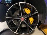 捷豹XEL刹车改装Brembo大六刹车卡钳,完美制动撩妹,欧卡改装网,汽车改装