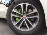 捷豹F-PACE刹车改装Brembo前六后四刹车卡钳,完美制动,欧卡改装网,汽车改装