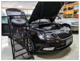 昆山汽车音响改装 斯柯达速派升级马来西亚爱威音响,欧卡改装网,汽车改装
