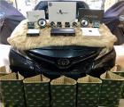 云浮第八代凯美瑞汽车音响改装洛克力量三分频案例,欧卡改装网,汽车改装