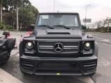 奔驰G级汽车改装mansory宽体碳纤维大包围+机盖,欧卡改装网,汽车改装