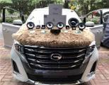 云浮广汽传祺GM8汽车音响改装洛克力量 4.1声道喇叭,欧卡改装网,汽车改装