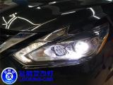南昌日产天籁车灯改装超视界激光大灯➕ 奥兹姆三代LED远光模组,欧卡改装网,汽车改装