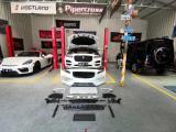 捷豹改装运动款前杠和ap卡钳、划线刹车盘,西安汽车改装,欧卡改装网,汽车改装