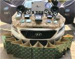 云浮现代索纳塔9汽车音响改装洛克力量喇叭,欧卡改装网,汽车改装
