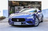 玛莎拉蒂ghibli升级新款GTS运动前杠双杆镜面标中网,欧卡改装网,汽车改装