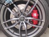 大众高尔夫刹车改装AP8530大四刹车卡钳,帅气制动,欧卡改装网,汽车改装