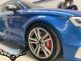 奥迪S3刹车改装AP9660竞技大六刹车卡钳,强劲制动效果,欧卡改装网,汽车改装