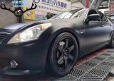 英菲尼迪G37刹车改装AP9040大六刹车卡钳,完美制动,欧卡改装网,汽车改装