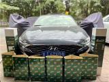 云浮现代菲斯塔汽车隔音改装四门四轮大能隔音案例,欧卡改装网,汽车改装