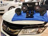 云浮本田锋范汽车音响改装洛克力量B650两分频喇叭,欧卡改装网,汽车改装