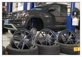 德州大众途昂汽车轮毂改装20寸轮毂,欧卡改装网,汽车改装