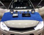 云浮东南V3汽车音响改装洛克力量R663三分频喇叭,欧卡改装网,汽车改装