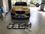 [捷豹F-PACE刹车改装]Brembo V6/V4前六后四刹车卡钳,欧卡改装网,汽车改装