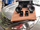 云浮现代索纳塔八汽车音响改装洛克力量B650二分频喇叭,欧卡改装网,汽车改装