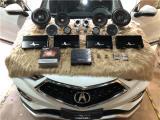 云浮讴歌CDX汽车音响改装丹麦绅士宝主动三分频喇叭,欧卡改装网,汽车改装