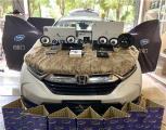 云浮本田CRV汽车音响改装洛克力量R663三分频喇叭,欧卡改装网,汽车改装