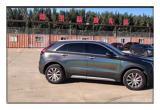 德州凯迪拉克XT4汽车改色贴膜高亮钻石白魅蓝改色膜,欧卡改装网,汽车改装