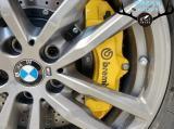 [宝马X5刹车改装]Brembo前六后四刹车卡钳,强劲制动,欧卡改装网,汽车改装