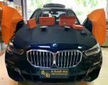 顺德宝马X5汽车音响改装日本必伟三分频喇叭,欧卡改装网,汽车改装