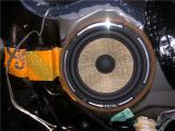 镇江本田艾力绅汽车音响改装法国劲浪黄盆165两分频喇叭,欧卡改装网,汽车改装