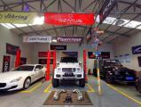 西安奔驰G500 4X4改装碳纤维装饰条+流水转向灯,欧卡改装网,汽车改装