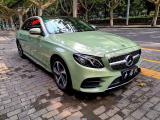 西安奔驰E级汽车改色贴膜卡其绿改色膜,欧卡改装网,汽车改装
