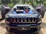 云浮Jeep自由光汽车音响改装洛克力量B650两分频喇叭,欧卡改装网,汽车改装