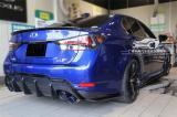 雷克萨斯GS汽车外观改装TOMS碳纤维后唇排气,欧卡改装网,汽车改装