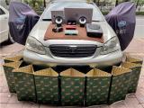 云浮丰田花冠汽车音响改装洛克力量R650两分频喇叭,欧卡改装网,汽车改装
