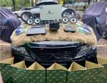 云浮丰田锐志汽车音响改装洛克力量R663三分频喇叭,欧卡改装网,汽车改装
