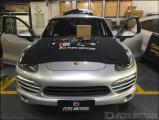 东莞保时捷卡宴改装3D/360全景影像+Carplay车载系统,欧卡改装网