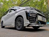 西安丰田威尔法改装蒙娜丽莎包围+隐形车衣,欧卡改装网,汽车改装