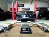 西安大众迈腾汽车排气改装SETRS中尾段排气,欧卡改装网,汽车改装