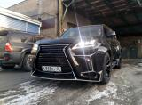 雷克萨斯LX570汽车外观改装俄罗斯VERGE宽体大包围,欧卡改装网,汽车改装
