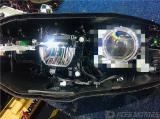 东莞宝马3系原车LED近光升级改装PDK-LED双光透镜效果,欧卡改装网,汽车改装