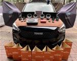 云浮哈佛M6汽车音响改装Venom N62二分频喇叭,欧卡改装网,汽车改装