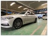 德州宝马5系汽车轮毂改装19寸前后配竞速款锻造轮毂,欧卡改装网,汽车改装