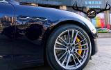 [玛莎拉蒂刹车改装]吉博力改装Brembo V6大六刹车卡钳,强劲制动,欧卡改装网,汽车改装