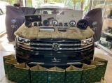 云浮汽车音响改装大众途昂改装洛克力量R660二分频喇叭,欧卡改装网,汽车改装