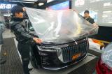 长沙贴隐形车衣红旗H9贴HEXIS透明保护膜,欧卡改装网,汽车改装