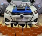 云浮汽车音响改装长安CS55电动车改装洛克力量R660二分频喇叭,欧卡改装网,汽车改装
