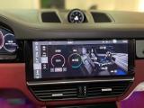 石家庄汽车改装保时捷卡宴改装大屏控制氛围灯,欧卡改装网,汽车改装