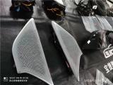 昆山汽车改装宝马6系GT改装原厂360全景摄像头+宝华音响发光盖板,欧卡改装网,汽车改装