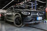 杭州汽车轮毂改装奔驰GLC改装AMG黑色轮毂,欧卡改装网,汽车改装